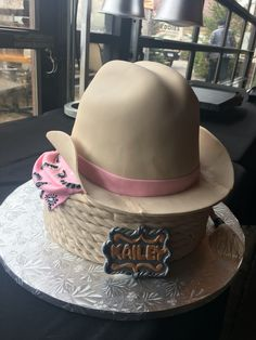 Country Cowgirl Birthday Cake