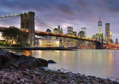 Sunset in Dumbo by Randy Le'Moine Photography, via Flickr