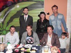 Notte Rossoblu con il direttore Rocco Pietropaolo e i calciatori del Bologna calcio