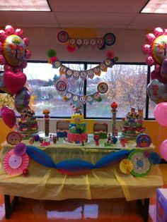 Lalaloopsy Birthday Party Cake Table Decoration Ideas