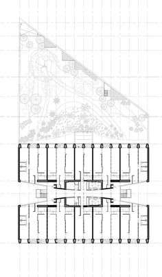 Image 2 of 17 from gallery of Reforma 27 / Alberto Kalach. Photograph by Yoshihiro Koitani Plan Image, Apartment Floor Plans, Architecture Drawings, Apartment Design, Diagram, How To Plan, House, Loft Apartments, American