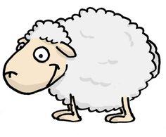 mouton souriant
