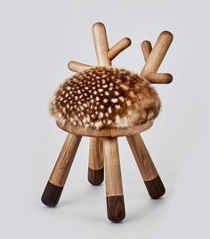 I'm totally obsessed with this dear deer stool! <3 #elementsoptimal