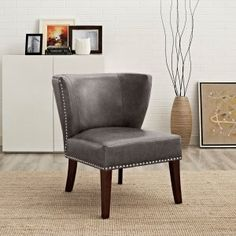 Grey Accent Chairs | Hayneedle