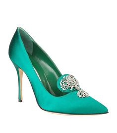 Harrods, designer clothing, luxury gifts and fashion accessories Crazy Shoes, Me Too Shoes, Stiletto Heels, High Heels, Manolo Blahnik Heels, Couture Shoes, Rhinestone Shoes, Jeweled Sandals, Satin Pumps