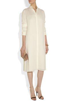 The Row|Khent crepe dress|NET-A-PORTER.COM