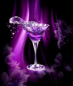 I don't drink but love the purple
