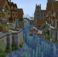 Plans Minecraft, Minecraft House Tutorials, Minecraft Room, Minecraft House Designs, Minecraft Survival, Minecraft Blueprints, Minecraft Furniture, Casa Medieval Minecraft, Minecraft Mansion