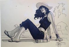 Death on Holiday by Terry Dodson *