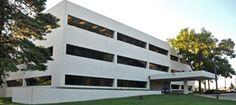 Our offices in West Des Moines, IA West Des Moines, Offices, Multi Story Building, Social Media, Desks, Office Spaces, Bureaus