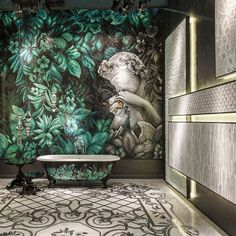 Our artistic mosaic revolutionizes an entire space, form the tub to the wall. Discover the applications of our Colibrì collection.