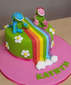 Koek Word 3, Baby Party, Kara, Fondant, Projects To Try, Birthday Cake, Parties, Party Ideas, Food
