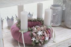 Christmas World, Christmas 2016, Christmas Holidays, Xmas, Christmas Advent Wreath, Christmas Candles, Christmas Decorations, Advent Candles, Pillar Candles