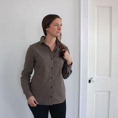 The evolution of fit, and an Archer View A are on the blog today. Link in profile.  @grainlinestudio #archerbuttonup #grainlinestudio sweetkm.com