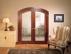 Double French Arched Doors. Black Millwork Co's friendly and knowledgeable window and doors specialists will walk you through our beautiful showroom  in Allendale, NJ, while answering any questions and concerns for your home or commercial residence. www.blackmillwork.com
