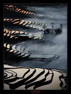 Yunnan rice fields, China