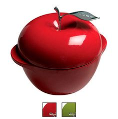 I love cooking with Cast Iron and Lodge cookware makes to die for cast iron ware.  This apple is so cute!    Lodge Cast Iron Cookware - America's Original Cookware - South Pittsburg, TN USA