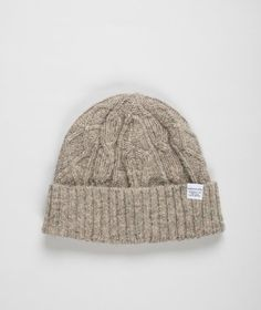 Norse Projects Cable Beanie   #BureauOfTrade