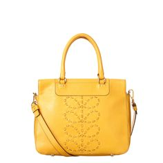 Orla Kiely      This product is made from high quality leather. This leather will develop a rich patina as it is polished and cherished. Due to the nature and colour of this leather please take car...