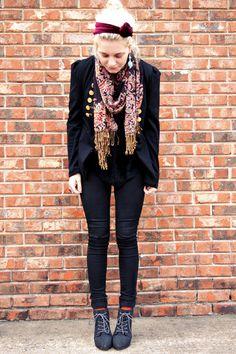 I'm loving this style! Bullhead Black dark wash skinny jeans make this outfit rocker-worthy. Love <3 #pacsun #bullheadblack