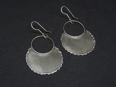Unique jewels handmade with love! by IndiejewelsShop Tribal Earrings, Dangle Earrings, Handmade Silver, Sterling Silver Earrings, Earrings Handmade, Gypsy, Ethnic, Dangles, Bohemian