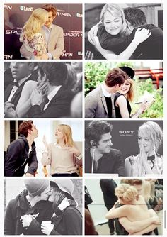 """""""She's playful and fun and silly and constantly helped me to stay in a place where I didn't take things too seriously. That's important for me because I'm pretty serious as a person. It gets on my nerves how serious I can be. So she was a real gift."""" -Andrew Garfield on Emma Stone"""