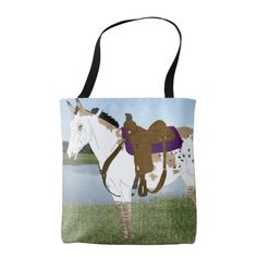 Spotted Mule Tote Bag