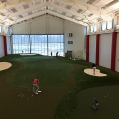 Wonderful Ohio State Menu0027s Golf Team Holding Practice In Their Brand New Indoor  Facility.   Must