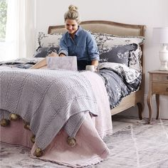 Check out the new, French-inspired Maison Francaise collection from Dunelm, which features chic bedroom furniture, pretty bed linens and elegant accessories for any room in the home…