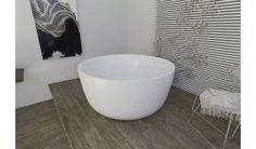 Aquatica PureScape™ 720M Freestanding Solid Surface Bathtub