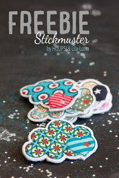 Freebie / Stickmuster / Lila-Lotta Adventskalender 2014