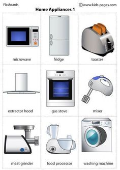 Electrodomésticos 1