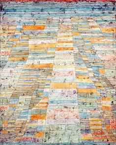 Paul Klee, Highway and byways, 1929