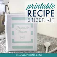 Think of how neat it would be to pass a Recipe Binder down to your children and grandchildren. The binder instantly becomes a cherished heirloom that holds special memories for years to come! Use the special notes section on each card to leave cooking tips or extra love.Recipe Binders also make beautiful gifts for a brand new bride. Collaborate with family members and and transfer the recipes you rely on over and over again.