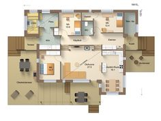 House Plans, Floor Plans, How To Plan, Architecture, Sims, Layouts, Ideas, Trendy Tree, Arquitetura