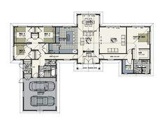 - Urban Homes Modern House Floor Plans, Home Design Floor Plans, Contemporary House Plans, Best House Plans, Dream House Plans, I Love House, Dream House Exterior, Bedroom House Plans, Decoration