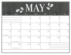 May 2018 Calendar, 2018 Calendar Template, Calendar 2019 Printable, Chalkboard Calendar, Picture Composition, Holiday Calendar, Calendar Wallpaper, Calendar Design, Printables