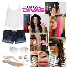 Total Divas: Congratulations? by samantha-vance on Polyvore featuring Hollister Co., Allurez, Marc by Marc Jacobs, Steve Madden and Episode