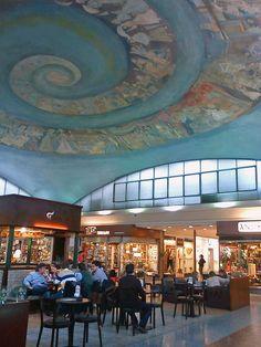 Interior de la Galería Santa Fé | by aleare.deviantart.com