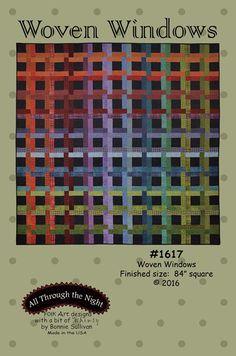 - Woven Windows Pattern - Hamels Fabrics & Quilting