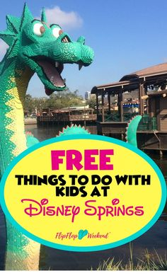 Disney Springs at Walt Disney World is a fantastic way to experience Disney magic without using a park ticket. With free parking, unique shopping and amazing Dining experiences, there is something for everyone. This post features the best free things to do with kids at Disney Springs with kids. via @flipflopweekend
