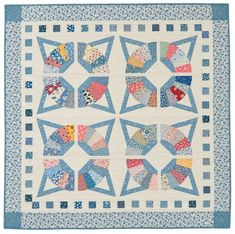 Fandango quilt from Applique Quilt Revival by Nancy Mahoney.
