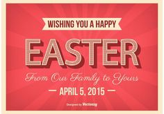 Typographic Easter Poster Vector - https://www.welovesolo.com/typographic-easter-poster-vector-3/?utm_source=PN&utm_medium=welovesolo59%40gmail.com&utm_campaign=SNAP%2Bfrom%2BWeLoveSoLo