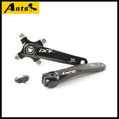 (52.66$)  Know more - http://ai29x.worlditems.win/all/product.php?id=32537837695 - ANTS Aluminum Single Double MTB Mountain Bike Bicycle Crankset Cranks