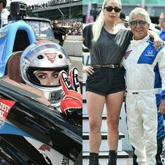 A Lady Gaga apareceu de surpresa hoje na Formula #Indy500 • • • • • • • • • • • • • • • • • • • • • • • • • • • • •  The Lady Gaga appears surprise today in Formula #Indy500