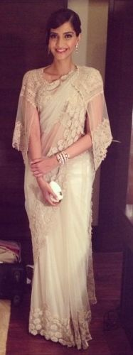 #Saree with coat. Wear Saree in style. #Contemporary