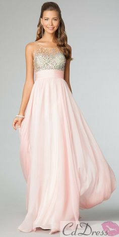 what a pretty soft and romantic flow of a dress for a wedding bridesmaid......i could see it in all colors