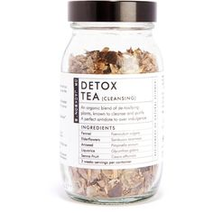 Dr Jackson's Detox Tea 175ml ($19) ❤ liked on Polyvore featuring beauty products