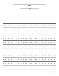 Blank Writing Templates For Students To Use For Any Writing Prompt