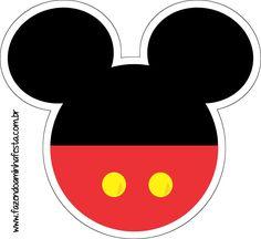 """Aproveite estes lindos moldes para fazer várias artes e personalizados no Mickey, decorando a sua festinha com scrapbooks e artes em papel! Para ver as imagens em boa resolução e copiar, clicar com o lado direto do mouse e """"abrir em nova guia"""" ou clicar em cima da imagem! Depois, clicar com o lado direito ... Baby Mickey, Mickey Party, Theme Mickey, Mickey Mouse Clubhouse Birthday Party, Mickey Mouse Parties, Mickey Mouse Birthday, Elmo Party, Natal Do Mickey Mouse, Mickey Mouse Crafts"""